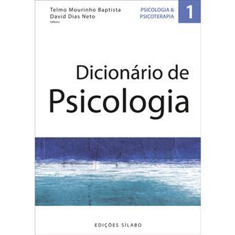 """Apresentação do livro """"Dicionário de Psicologia"""""""