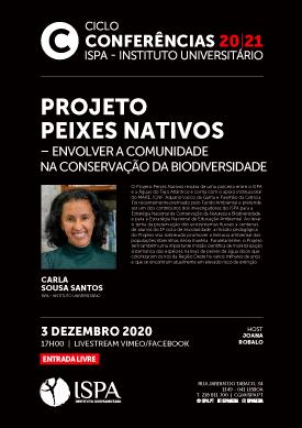 Projeto Peixes Nativos – Envolver a comunidade na conservação da Biodiversidade