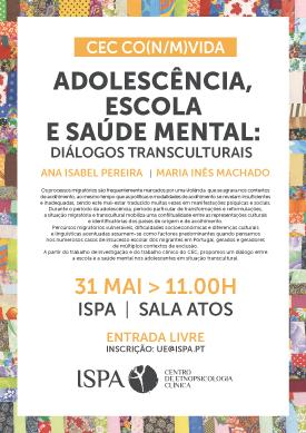 Adolescência, Escola e Saúde Mental: Diálogos Transculturais