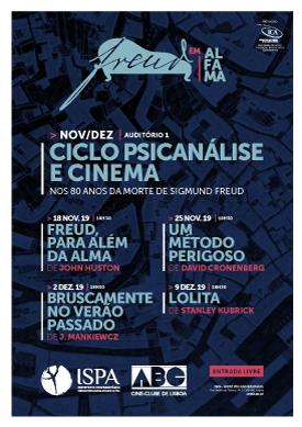 Ciclo Psicanálise e Cinema