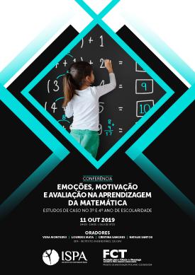 Conferência – Emoções, motivação e avaliação na aprendizagem da matemática