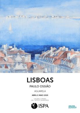 """""""Lisboas"""" – Exposição de aguarela"""