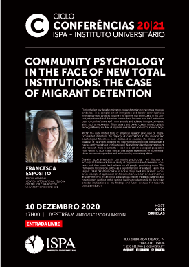 Community psychology in the face of new total institutions: The case of migrant detention