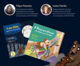 Professoras do ISPA lançam livros infantis