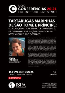 Tartarugas Marinhas de São Tomé e Príncipe: Ecologia, genética e estado de conservação de diferentes populações que ocorrem neste arquipélago oceânico