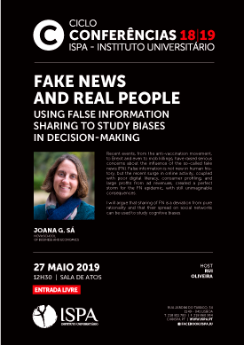 Fake News and Real People: using false information sharing to study biases in decision-making