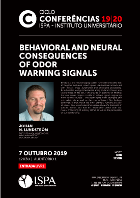 Behavioral and neural consequences of odor warning signals
