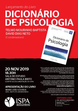 Lançamento do Livro – Dicionário de Psicologia