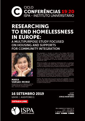 Researching to end homelessness in Europe: a multipurpose study focused on housing and supports for community integration