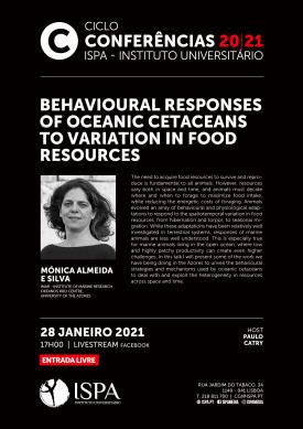 Behavioural responses of oceanic cetaceans to variation in food resources
