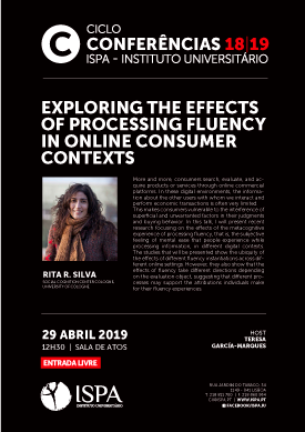 Exploring the effects of processing fluency in online consumer contexts