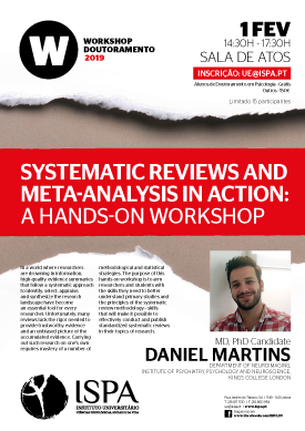 Systematic Reviews and Meta-analysis in action: a Hands-on Workshop