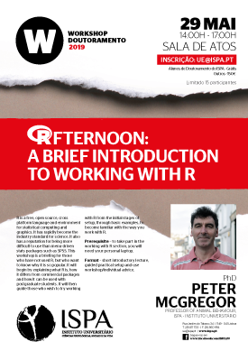 (R)fternoon: a brief introduction to working with R